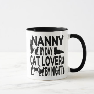 Cat Lover Nanny Mug
