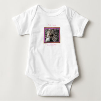 Cat Lover Orange Cat - Baby HAMbWG - T-Shirt