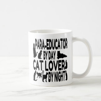 Cat Lover Para Educator Coffee Mug