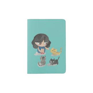 Cat Lover Passport Holder