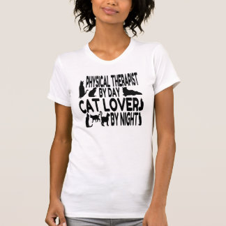 Cat Lover Physical Therapist T Shirt