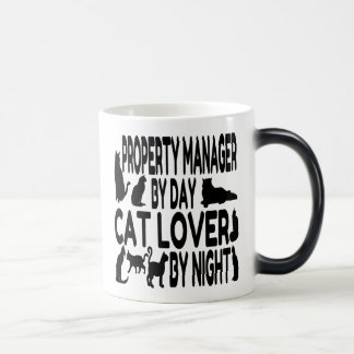 Cat Lover Property Manager Morphing Mug