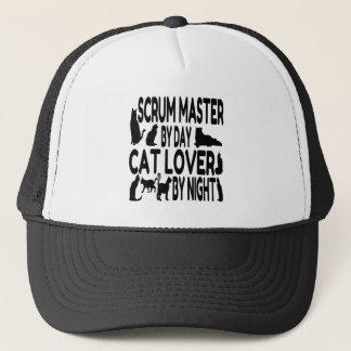 Cat Lover Scrum Master Trucker Hat