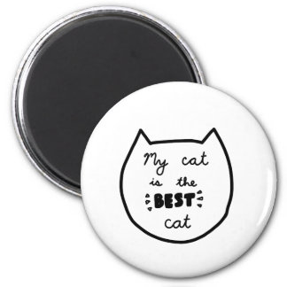 CAT LOVER shirts, accessories, gifts Magnet