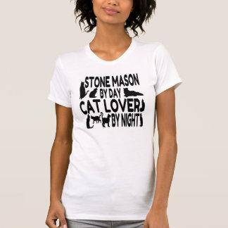 Cat Lover Stone Mason T-Shirt