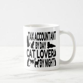 Cat Lover Tax Accountant Basic White Mug