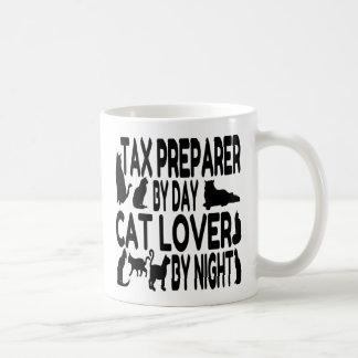 Cat Lover Tax Preparer Basic White Mug