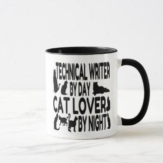 Cat Lover Technical Writer Mug