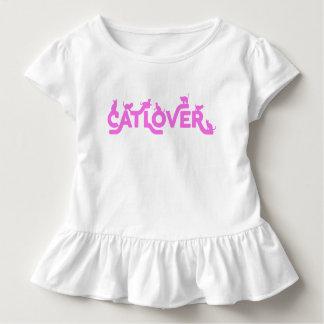Cat Lover Toddler Shirt for Girls
