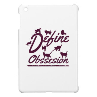 Cat lover tshirts case for the iPad mini
