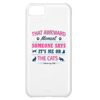 Cat lover tshirts iPhone 5C case