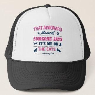 Cat lover tshirts trucker hat