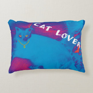 Cat lover two-sided pillow