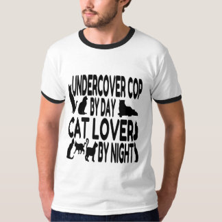 Cat Lover Undercover Cop T-Shirt