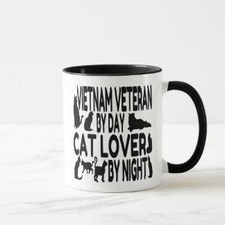 Cat Lover Vietnam Veteran Mug