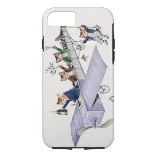 Cat Lover's iPhone7 case - Vintage Anthropomorphic
