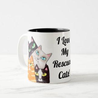 Cat Lover's Kitty Custom Coffee Mug