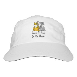 Cat Lovers Learn To Live In the Meow hat
