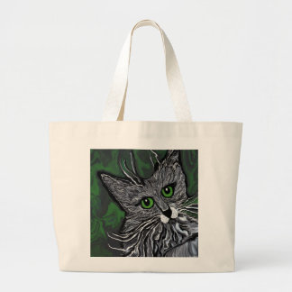 cat lovers tote carry all bag