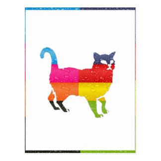 CAT MAYA AZTEC DRCHOS.COM 10V  CUSTOMIZABLE PRODUC POSTCARD