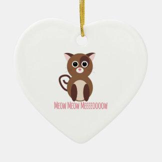 cat_meow meow meeeoow christmas ornament