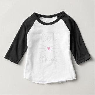 cat mom baby T-Shirt