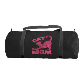 Cat Mom Gym Bag