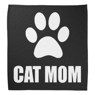 Cat Mom Paw Bandana