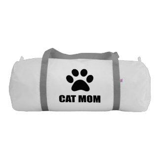 Cat Mom Paw Gym Duffel Bag