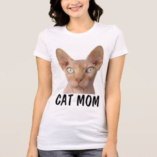 CAT MOM SPHYNX t-shirts