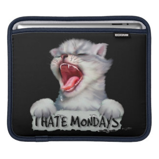 CAT MONDAY CUTE CARTOON iPad H iPad Sleeve