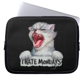 CAT MONDAY LAPTOP SLEEVE 10 INCHES