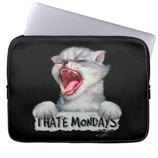 CAT MONDAY LAPTOP SLEEVE 13 INCHES
