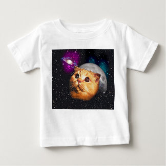 cat moon ,cat and moon ,catmoon ,moon cat baby T-Shirt