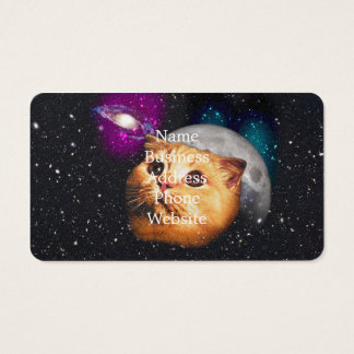 cat moon ,cat and moon ,catmoon ,moon cat business card