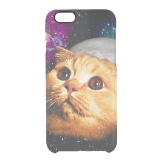 cat moon ,cat and moon ,catmoon ,moon cat clear iPhone 6/6S case