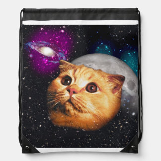 cat moon ,cat and moon ,catmoon ,moon cat drawstring bag