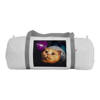 cat moon ,cat and moon ,catmoon ,moon cat gym duffel bag