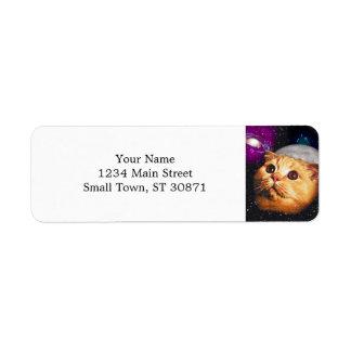 cat moon ,cat and moon ,catmoon ,moon cat return address label