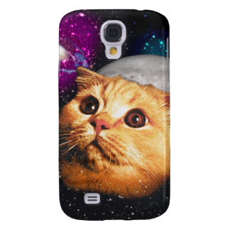 cat moon ,cat and moon ,catmoon ,moon cat samsung galaxy s4 covers
