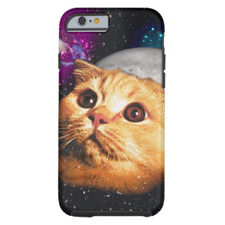 cat moon ,cat and moon ,catmoon ,moon cat tough iPhone 6 case