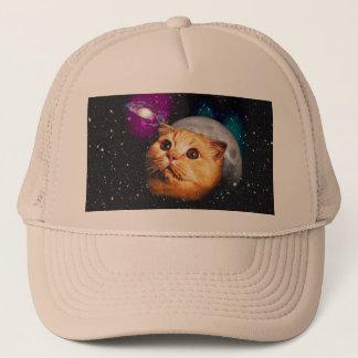 cat moon ,cat and moon ,catmoon ,moon cat trucker hat