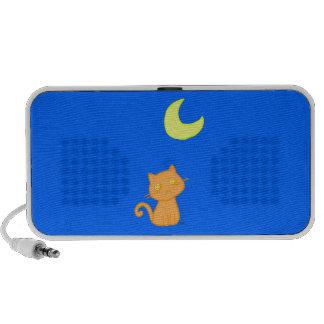 Cat Moon Mp3 Speakers