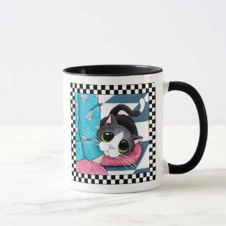 Cat Morning Ankle Warmer | Cat Art Mug