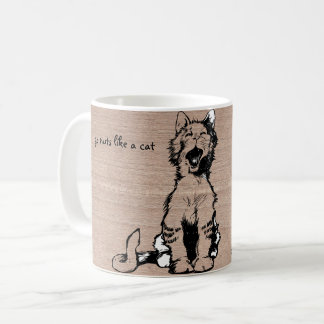 Cat Mug, Go crazy Coffee Mug