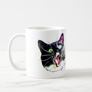 "Cat Mug- ""I came, I saw, I FRAZZED"" Coffee Mug"