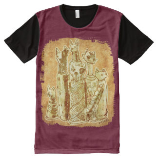 cat mummies All-Over print T-Shirt