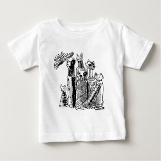cat_mummies baby T-Shirt