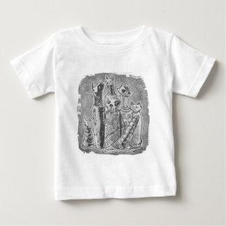 cat mummies grey baby T-Shirt