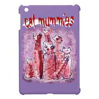 cat mummies iPad mini cases